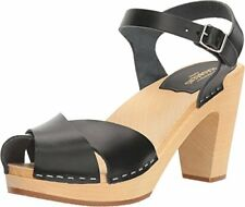 swedish hasbeens 30301 Womens Merci Heeled Sandal /- Choose SZ/Color.