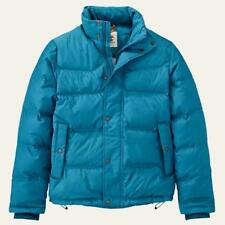 Timberland 5500J Goose Eye Mountain Down Insulated Winter Jacket Coat Blue Mens