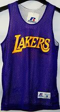 LOS ANGELES LAKERS DENNY'S YOUTH CAMP REVERSIBLE PURPLE & WHITE JERSEY