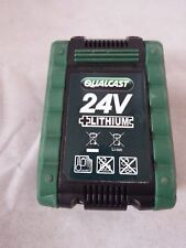 Qualcast Cordless Electric Lawnmower Spare Part - 24V Lithium Battery 24LB4005
