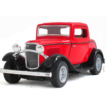 FORD 1932 Window Coupe Model Cars Toys 1:34 Alloy Diecast Gifts & Collection New