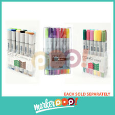 US AUTHORIZED RETAILER Copic Ciao/Original/Sketch Marker Set 12 Nature