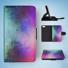 WATERCOLOR SPACE ART 4 FLIP WALLET CASE COVER FOR IPHONE 5 / 5S / 5SE