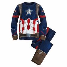 1 Set Children Cotton Long Sleeve Cartoon Spiderman Pajamas Baby Girl Boys Super