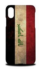 IRAQ COUNTRY FLAG  HARD CASE COVER FOR APPLE IPHONE X
