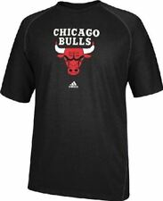 Chicago Bulls Black Primary Logo Climalite Shirt by Adidas