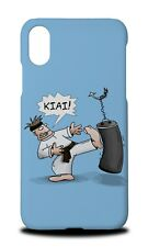 MARTIAL ARTS FIGHTING KIAI HARD CASE COVER FOR APPLE IPHONE X