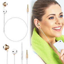 New Headphones Earphones For iPhone 6sp-6S-6-5-5S- With Remote & Mic
