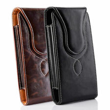 Vertical Leather Carrying  Belt Clip Holster Pouch Case Cover For All Cell Phone