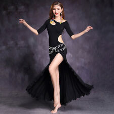 Cheap 2017 new  Sexy Hollow out Belly Dance Costumes Long Dress Skirt