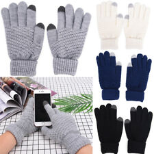 Men And Women Knitted Winter Gloves Screen Touch Gloves Hand Warmers And Covers