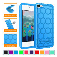 For Apple iPod Touch 6th Gen / iPod Touch 5th Gen Silicone Case Cover Shockproof