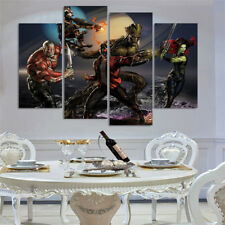 4 Panels HD Canvas Print home decor wall art painting,guardians of the galaxy