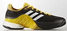 adidas Performance BARRICADE BOOST 2017 MEN'S SHOES Black-Size US 10.5,11 Or11.5