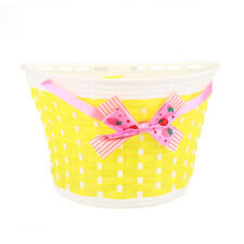 Outdoor Bicycle Bags Panniers Bike Cycle Bowknot Front Basket For Girl