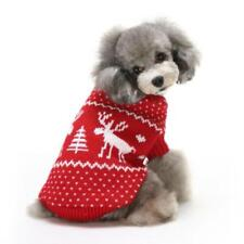 Dog Clothes Christmas Dress Snow Sweater Halloween Pet Clothes Sweater Dog Suit