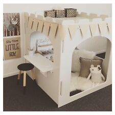 NEW INDOOR CUBBY HOUSE + 2 FREE PLAY FURNITURE - 9 STYLES TO CHOOSE FROM!