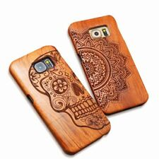 Mobile Phone Accessories - Natural Wood Case For iPhone & Samsung Galaxy