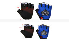 Wheelchair Sports Cycling Bicycle Bike Gel Padded Half Fingers Gloves Kid/Adult