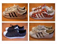New without Box Adidas Superstar shoes/sneakers Nigo Bearfoot/AOP, Animal
