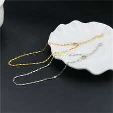 Fine Anklet Bracelet Foot Beach Chain Lobster Jewelry Accessory 2Colors
