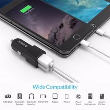 2 Dual Port Usb Car Charger Adapter Iphone Samsung 1a Lg Universal New Lot Led