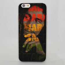 Bob Marley Smoking Style Hard Case Cover Coque  for iPhone Samsung Huawei Sony
