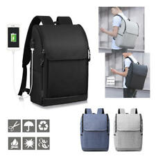 Anti-Theft Backpack with USB Charge Port Waterproof Laptop Travel Rucksack
