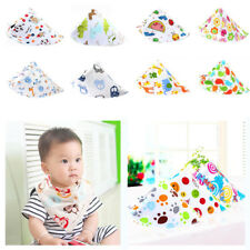 16 Colors Cartoon Kid Toddler Bandana Baby Bibs Saliva Towel Boy Girl