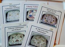 Dutch Treat Designs TABLE TOPPER Cross Stitch Chart Pattern ~ U PICK!