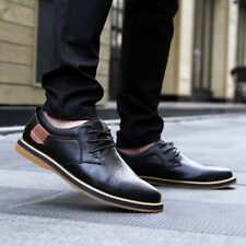 Genuine Leather Non-Slip Oxfords US6-US10 Comfy Men's Business leather shoes FA8
