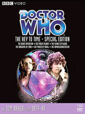 DOCTOR WHO THE KEY TO TIME 7 DISC STORIES 99-103 TOM BAKER NEW SEALED + TRKG!!