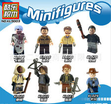 The Walking Dead Minifigures Blocks Building DIY Toys Compatible With Main Brand
