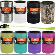 Ozark Trail 12oz Vacuum Insulated Stainless Steel Can Bottle Beer Coozie Cooler