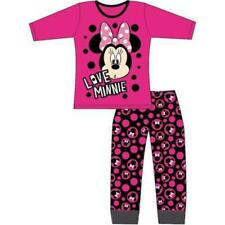 Girls' Disney Minnie Mouse Long Sleeve Pyjamas Sleepwear Set
