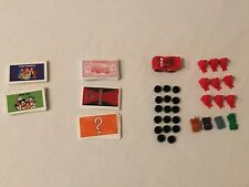 Monopoly Disney and Pixar Cars Board Game REPLACEMENT Parts Pieces Cards Tokens