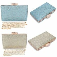 Women's Diamante Evening Party Clutch Bag Bridal Purse Handbag Girl Prom Party
