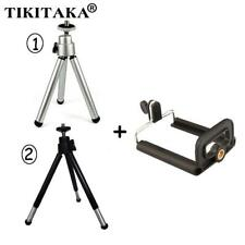 Flexible Universal Stand Tripod + Clip Bracket Holder Mount Adapter For iPhone S