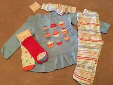 NWT Gymboree Treats & Trucks Baby Girl Cupcake Layette 5pc Outfit