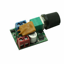 1/2/5PCS 5A Mini DC Motor PWM Speed Controller 3V-35V Control Switch LED Dimmer