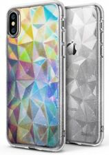 Apple iPhone X Case Sparkle 3D Stylish Protective TPU Cover Glitter Clear