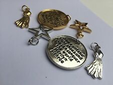 Marilyn Monroe Charms Pendants, Halter Dress, Hollywood Star, Right Pair Shoes