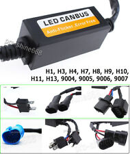 H1 H4 H7 9005 9006 9007 HB4 LED Headlight Anti Flicker Resistor Canceller Decode