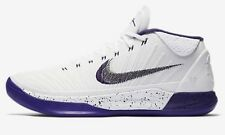 Nike ZOOM KOBE A.D. MEN'S BASKETBALL SHOE White/Court Purple-US 9,9.5,10 Or 10.5