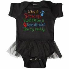 Inktastic Band Director Like Daddy Infant Tutu Bodysuit Childs Kids Baby Gift My