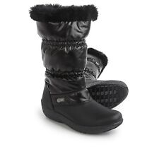 Womens TECNICA JULIA HIGH Faux Fur BLACK INSULATED SNOW WINTER BOOTS 6 to 8.5