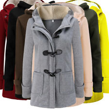 UK Womens Loose Hoodies Long Hooded Tops Ladies Sweatshirt Warm Coat Pullover