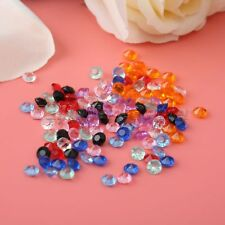Wedding Party Decor Scatter Table Crystal Diamond Acrylic Hot 1000pcs/Pack 4.5mm