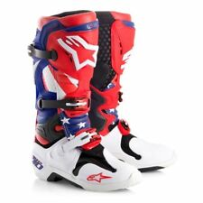 ALPINESTARS LIMITED EDITION NATIONS TECH 10 BOOT SIZE 11 Boots Atv Motocross MX