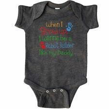 Inktastic Robot Builder Like Daddy Infant Creeper Childs Kids Baby Gift Son My
